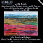 Uuno Klami: The Cobblers on the Heath, Overture; Theme with Seven Variations and Coda,Op 44; Kalevala Suite Op. 23