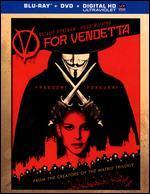 V for Vendetta [2 Discs] [Includes Digital Copy] [UltraViolet] [Blu-ray/DVD]