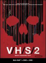V/H/S/2 [2 Discs] [Blu-ray/DVD] [Includes VHS] - Adam Wingard; Eduardo Sanchez; Gareth Evans; Gregg Hale; Jason Eisener; Simon Barrett; Timo Tjahjanto