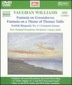 Vaughan Williams: Fantasia on Greensleeves; Fantasia on a Theme of Thomas Tallis [DVD Audio] - New Zealand Symphony Orchestra; James Judd (conductor)