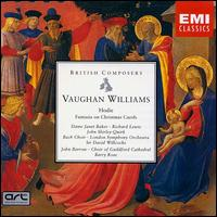 Vaughan Williams: Hodie & Fantasia on Christmas Carols - Gavin Williams (organ); Janet Baker (mezzo-soprano); John Barrow (baritone); John Shirley-Quirk (baritone);...