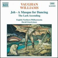 Vaughan Williams: Lark Ascending; Job - English Northern Philharmonia; David Lloyd-Jones (conductor)