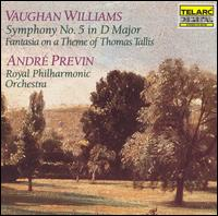 Vaughan Williams: Symphony No. 5; Tallis Fantasia - Andrew Williams (viola); Barry Griffiths (violin); Francois Rive (cello); Peter Cosham (violin);...