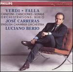 Verdi, Falla: Songs