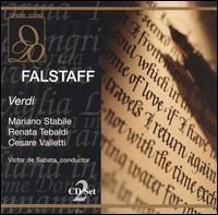 Verdi: Falstaff - Alda Noni (vocals); Anna Maria Canali (vocals); Cesare Valletti (vocals); Cloe Elmo (vocals); Giuseppe Nessi (vocals);...