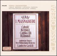 Verdi: I Masnadieri - Carlo Bergonzi (tenor); Montserrat Caballé (soprano); Norman Jones (cello); Piero Cappuccilli (baritone);...