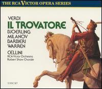 Verdi: Il Trovatore - Fedora Barbieri (vocals); George Cehanovsky (vocals); Jussi Björling (vocals); Leonard Warren (vocals);...