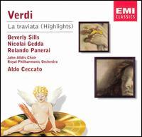 Verdi: La Traviata [Highlights] - Beverly Sills (vocals); Delia Wallis (vocals); Keith Erwen (vocals); Mirella Fiorentini (vocals); Nicolai Gedda (vocals);...