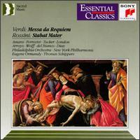Verdi: Messa da Requiem; Rossini: Stabat Mater - Beverly Wolff (mezzo-soprano); George London (baritone); Justino Diaz (bass); Lucine Amara (soprano);...