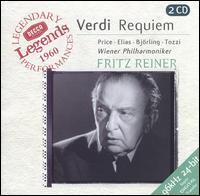 Verdi: Requiem - Giorgio Tozzi (bass); Jussi Björling (tenor); Leontyne Price (soprano); Rosalind Elias (mezzo-soprano);...