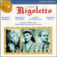 Verdi: Rigoletto - Andrea Mineo (baritone); Anna Maria Rota (counter tenor); Arturo la Porta (baritone); Giorgio Tozzi (bass);...