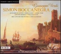 Verdi: Simon Boccanegra (1857 Version) - Andre Turp (vocals); Gwynne Howell (vocals); Josella Ligi (vocals); Paul Hudson (vocals); Sesto Bruscantini (vocals);...