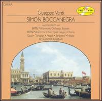 Verdi: Simon Boccanegra - Eduard Tumagian (vocals); Gerard Gauci (vocals); Giacomo Aragall (vocals); Josef Mikulas (vocals); Ricardo Sardinero (vocals); BRTN Philharmonic Choir Brussels (choir, chorus); Jaak Gregoor Chorus (choir, chorus)