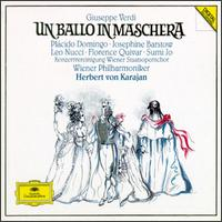 Verdi: Un Ballo in Maschera - Adolf Tomaschek (vocals); Florence Quivar (vocals); Goran Simic (vocals); Jean-Luc Chaignaud (vocals);...