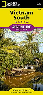 Vietnam, South - National Geographic Maps (Editor)