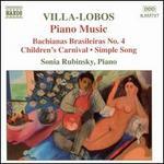 Villa-Lobos: Piano Music, Vol. 4