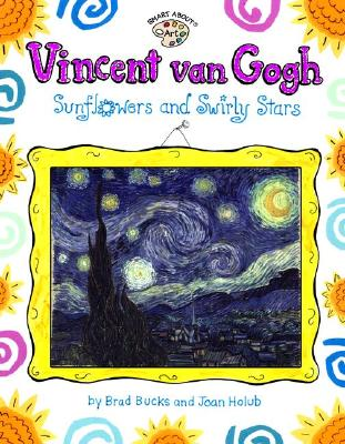 Vincent Van Gogh: Sunflowers and Swirly Stars -