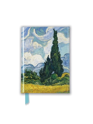 Vincent Van Gogh: Wheat Field with Cypresses (Foiled Pocket Journal) - Flame Tree Studio (Creator)