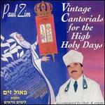 Vintage Cantorials for the High Holy Days