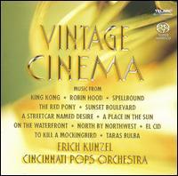Vintage Cinema [Hybrid SACD] - Erich Kunzel/Cincinnati Pops Orchestra