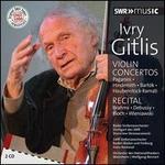 Violin Concertos, Recitals