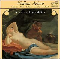 Violino Arioso - Ariadne Daskalakis (violin); Gabriella Strümpel (cello); Helene Lerch (harpsichord)