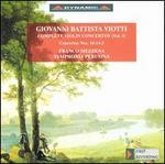 Viotti: Complete Violin Concertos, vol. 4