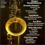 Virtuoso Saxophone Concertos