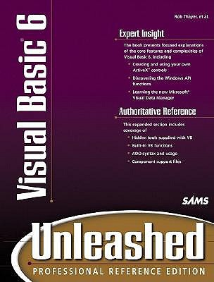 Visual Basic 6 Unleashed - Thayer, Rob