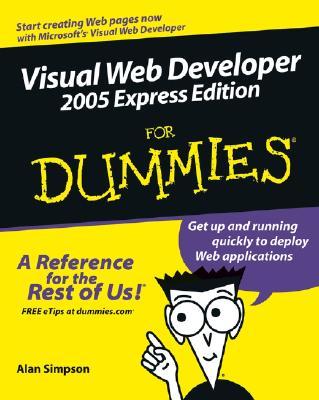 Visual Web Developer for Dummies - Simpson, Alan