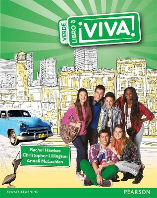Viva! Pupil Book 3 Verde - Lillington, Christopher, and Hawkes, Rachel