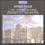 Vivaldi: Concerti di Parigi