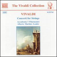 Vivaldi: Concerti for Strings - Accademia I Filarmonici; Alberto Martini (conductor)
