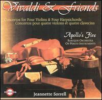 Vivaldi & Friends - Ann Marie Morgan (viola da gamba); Apollo's Fire; Cynthia Roberts (violin); Jeannette Sorrell (harpsichord);...