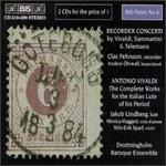 Vivaldi, Giuseppe Sammartini, Georg Telemann: Recorder Concerti; Vivaldi: The Complete Works for the Italian Lute
