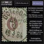 Vivaldi, Giuseppe Sammartini, Georg Telemann: Recorder Concerti; Vivaldi: The Complete Works for the Italian Lute
