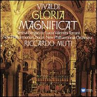 Vivaldi: Gloria; Magnificat - Gordon Hunt (oboe); Lucia Valentini Terrani (contra-alto); Teresa Berganza (mezzo-soprano);...