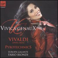 "Vivaldi: Opera Arias ""Pyrotechnics"" - Fabio Biondi (violin); Vivica Genaux (mezzo-soprano); Europa Galante; Fabio Biondi (conductor)"