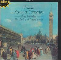 Vivaldi: Recorder Concertos - Parley of Instruments; Peter Holtslag (alto recorder); Peter Holtslag (sopranino recorder)