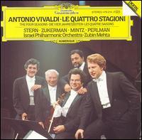 Vivaldi: The Four Seasons - Isaac Stern (violin); Itzhak Perlman (vocals); Pinchas Zukerman (violin); Shlomo Mintz (vocals);...