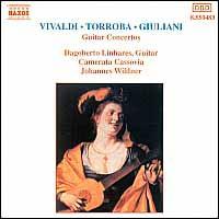 Vivaldi, Torroba, Giuliani: Guitar Concertos - Camerata Cassovia; Dagoberto Linhares (guitar); Raymond Migy (guitar); Johannes Wildner (conductor)