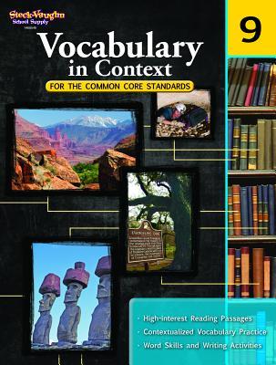 Vocabulary in Context for the Common Core Standards: Reproducible Grade 9 - Houghton Mifflin Harcourt