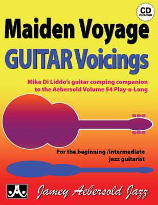Vol. 54 Maiden Voyage Guitar Voicings (Play-a-Long) - Mike Diliddo
