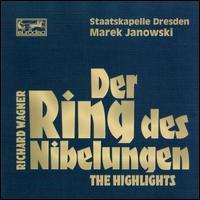 Wagner: Der Ring des Nibelungen (Highlights) - Anne Gjevang (alto); Cheryl Studer (soprano); Christel Borchers (mezzo-soprano); Eberhard Büchner (tenor);...
