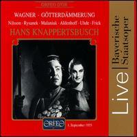 Wagner: Götterdämmerung - Bernd Aldenhoff (vocals); Birgit Nilsson (vocals); Elisabeth Lindermeier (vocals); Gerda Sommerschuh (vocals);...