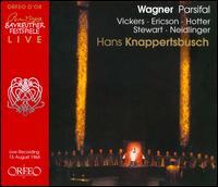 Wagner: Parsifal [Bayreuth 1964] - Anja Silja (vocals); Barbro Ericson (vocals); Dieter Slembeck (vocals); Dorothea Siebert (vocals);...