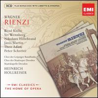 Wagner: Rienzi - Günther Leib (vocals); Ingeborg Springer (vocals); Janis Martin (vocals); Nikolaus Hillebrand (vocals);...