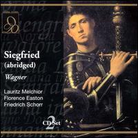 Wagner: Siegfried (abridged) - Albert Reiss (vocals); Dr. Emil Schipper (vocals); Eduard Habich (vocals); Florence Easton (vocals);...