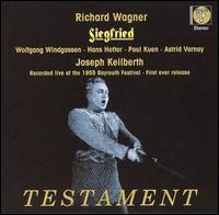 Wagner: Siegfried - Astrid Varnay (vocals); Gustav Neidlinger (vocals); Hans Hotter (vocals); Ilse Hollweg (vocals); Josef Greindl (vocals);...