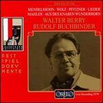 Walter Berry; Rudolf Buchbinder